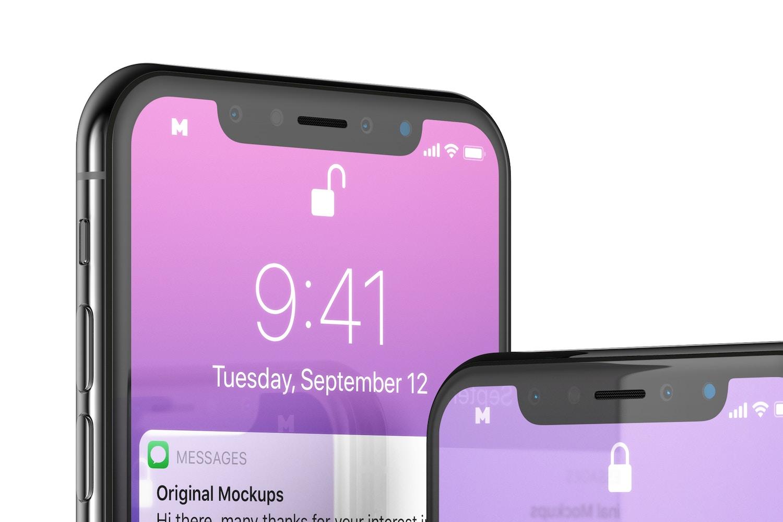 Free iPhone X Mockup 02