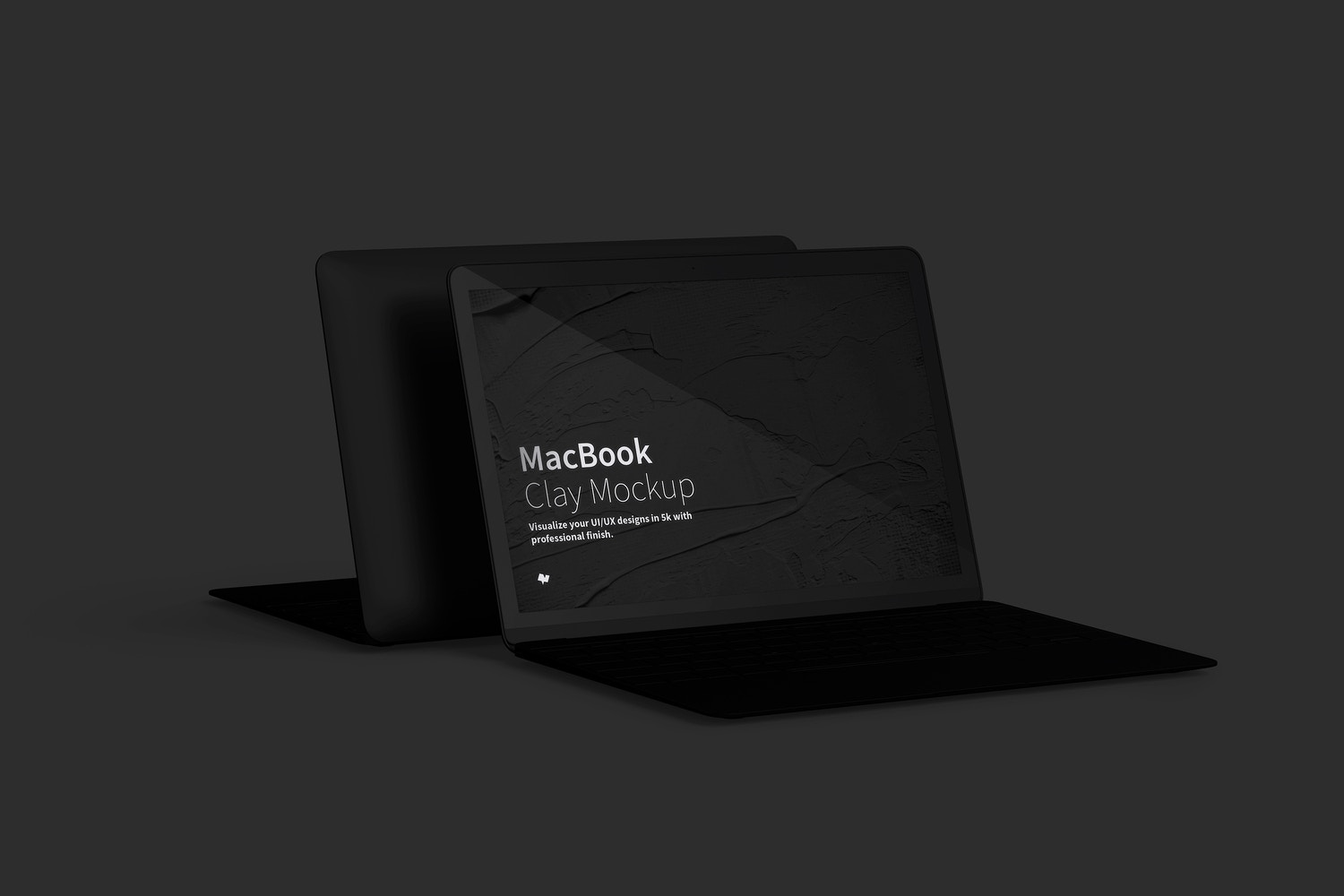 Clay MacBook Mockup (5) by Original Mockups on Original Mockups