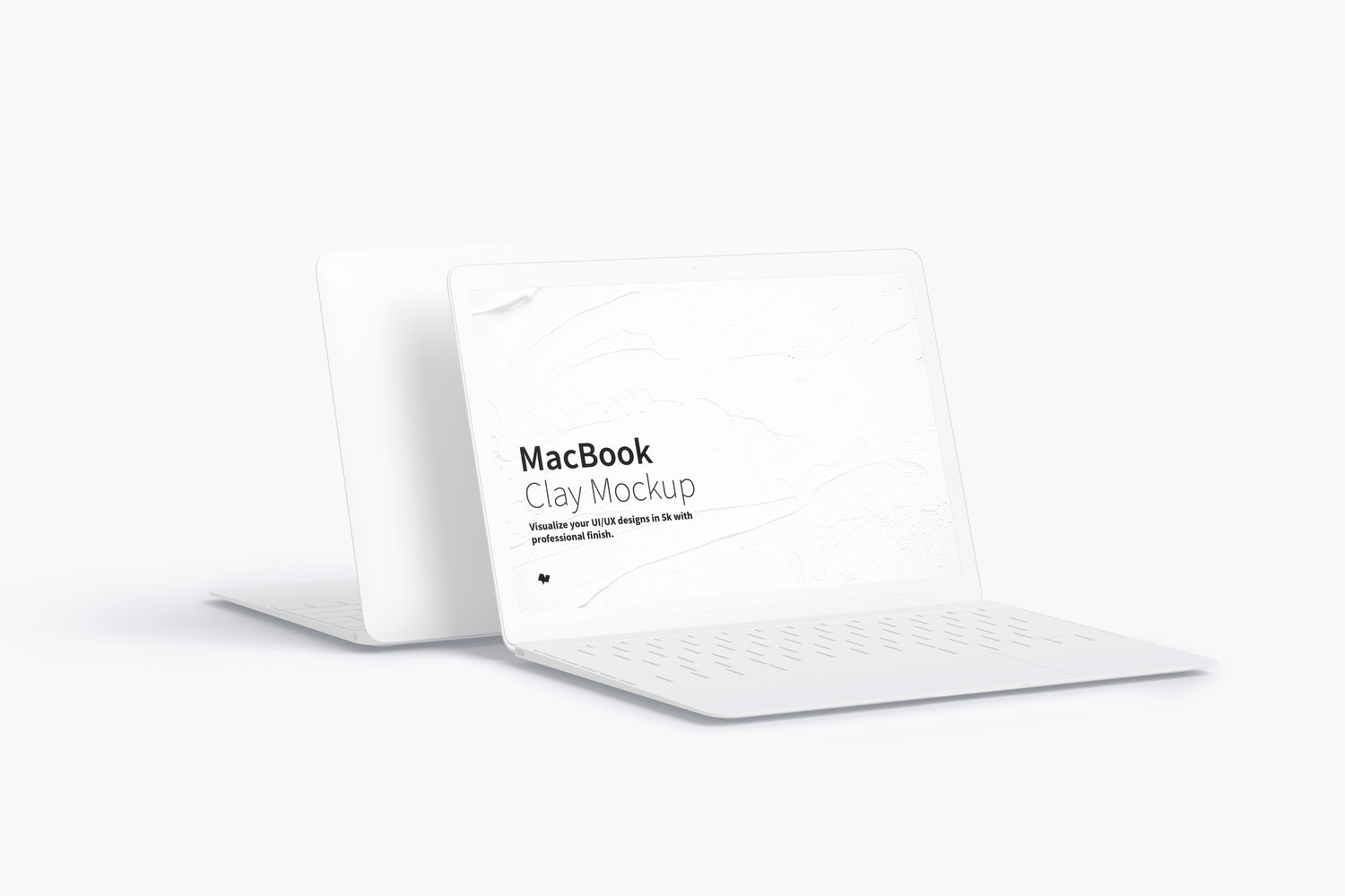 Clay MacBook Mockup (1) by Original Mockups on Original Mockups