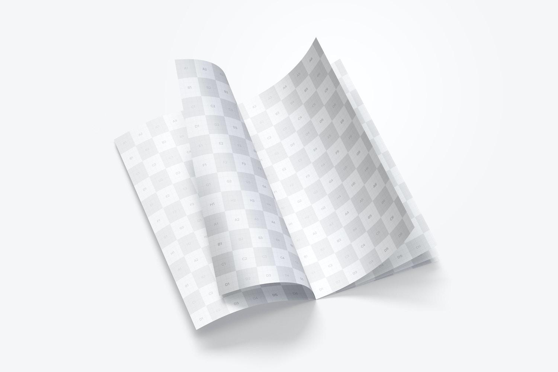 Thin Booklet Mockup 02 (2) by Original Mockups on Original Mockups