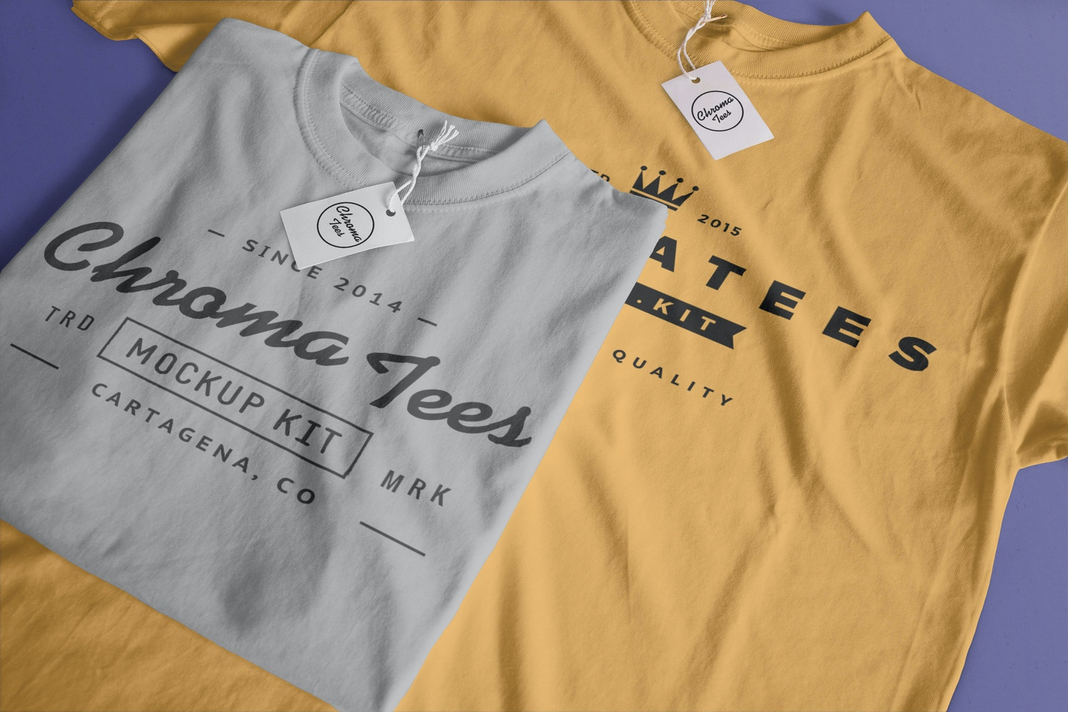 T-Shirts Mockup 01 by Antonio Padilla on Original Mockups