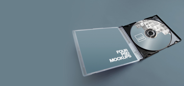 CD-DVD Jewel Case Mockups by Carlos Viloria on Original Mockups