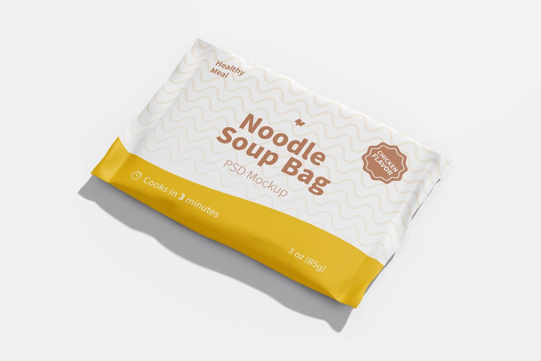 Noodle Soup Bag Mockup