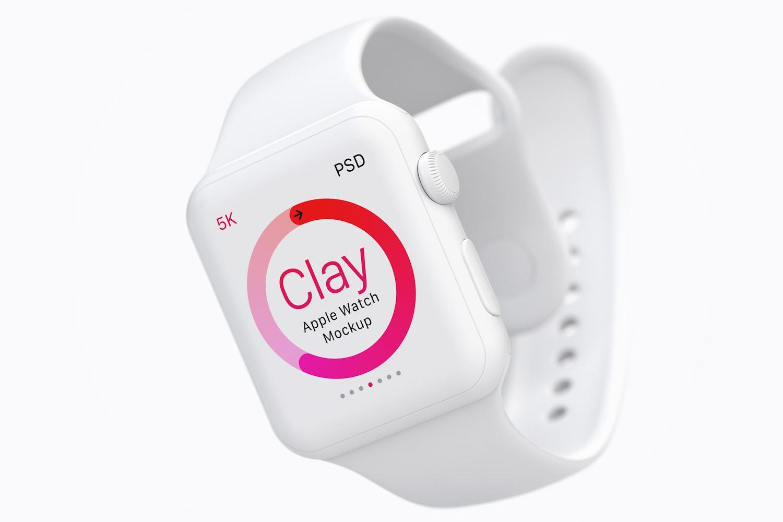 Maqueta de Apple Watch Multicolor 02