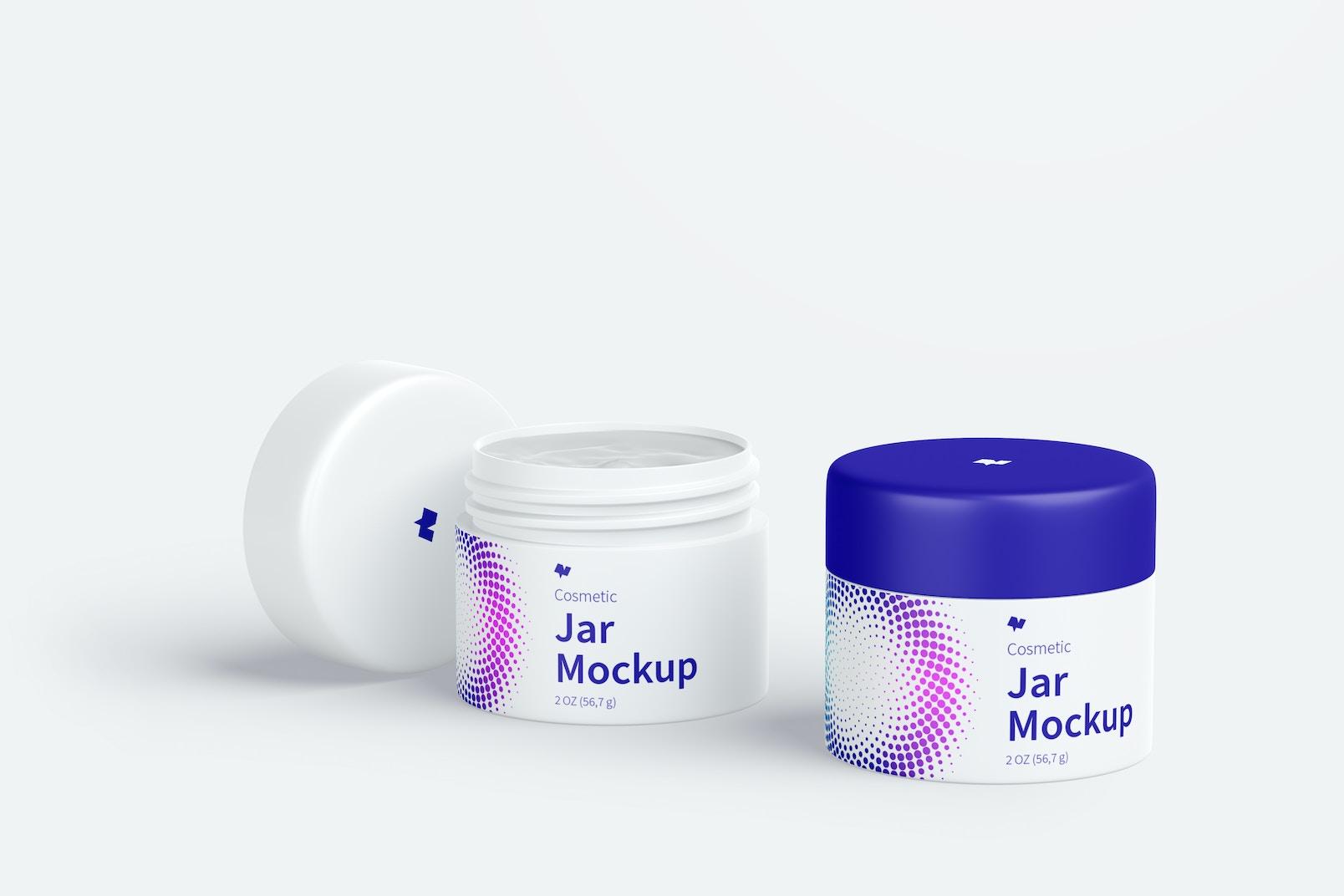 Cosmetic Jar Mockup 02