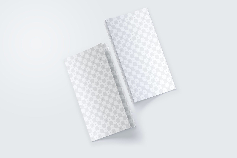 Thin Booklet Mockup 03