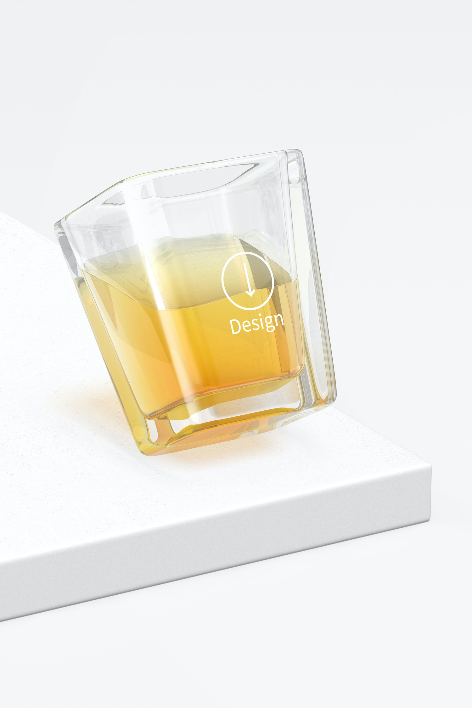 Square Shot Glass Mockup
