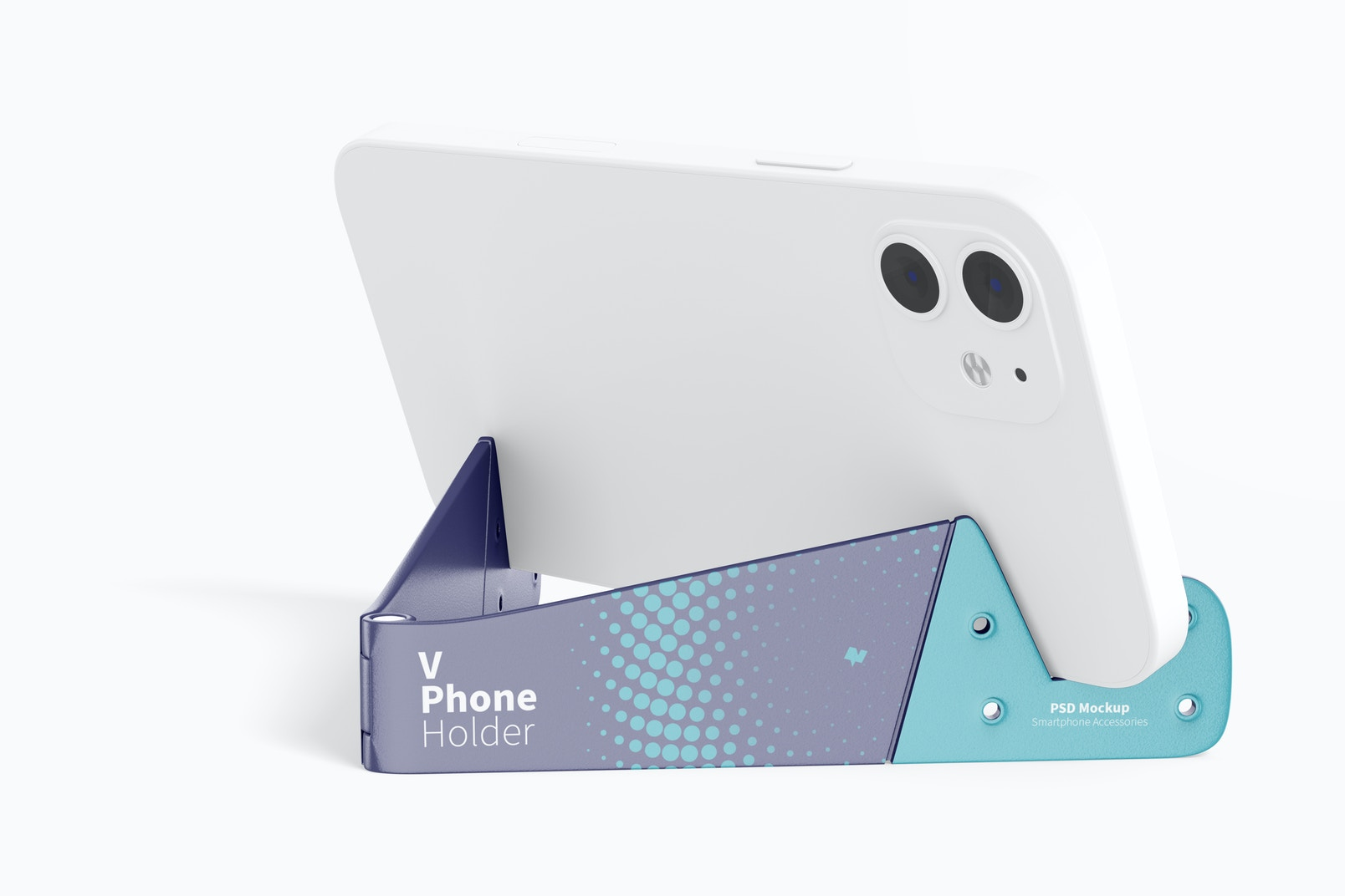 V Phone Holder with Device Mockup