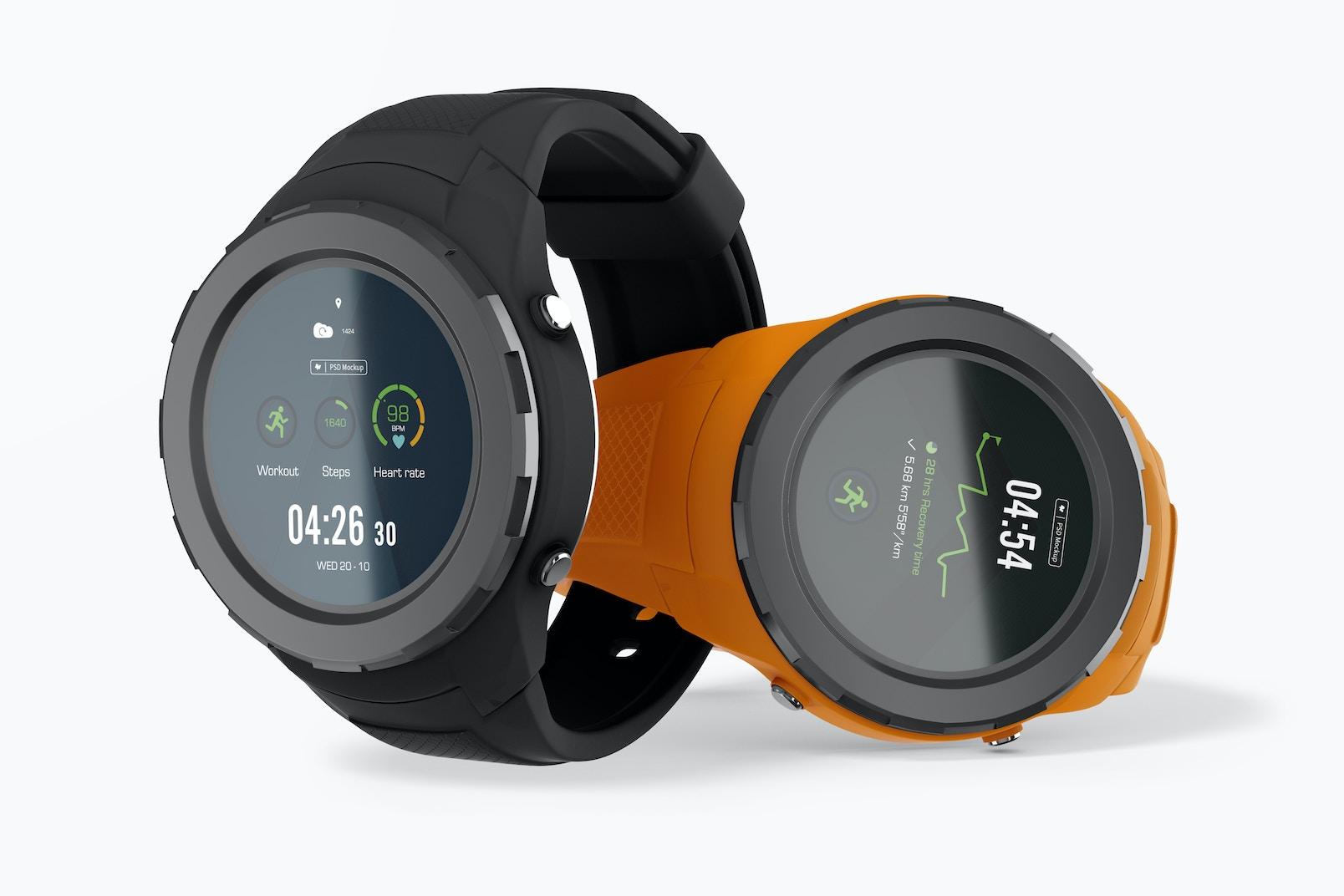 Huawei Watch 2 Mockup