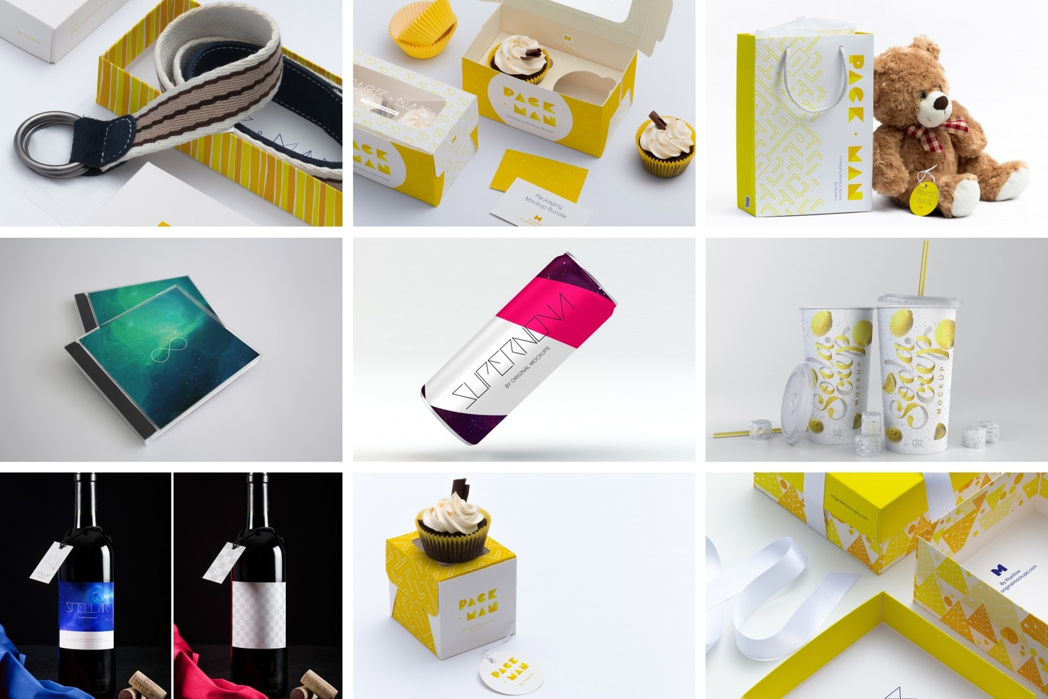 Packaging (111 maquetas)