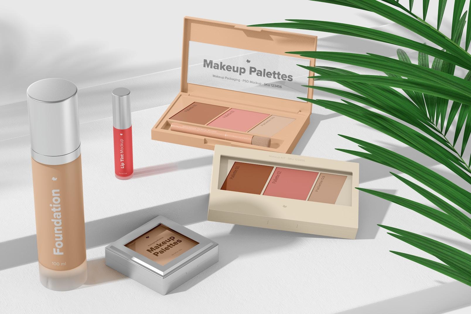 Makeup Palettes Mockup