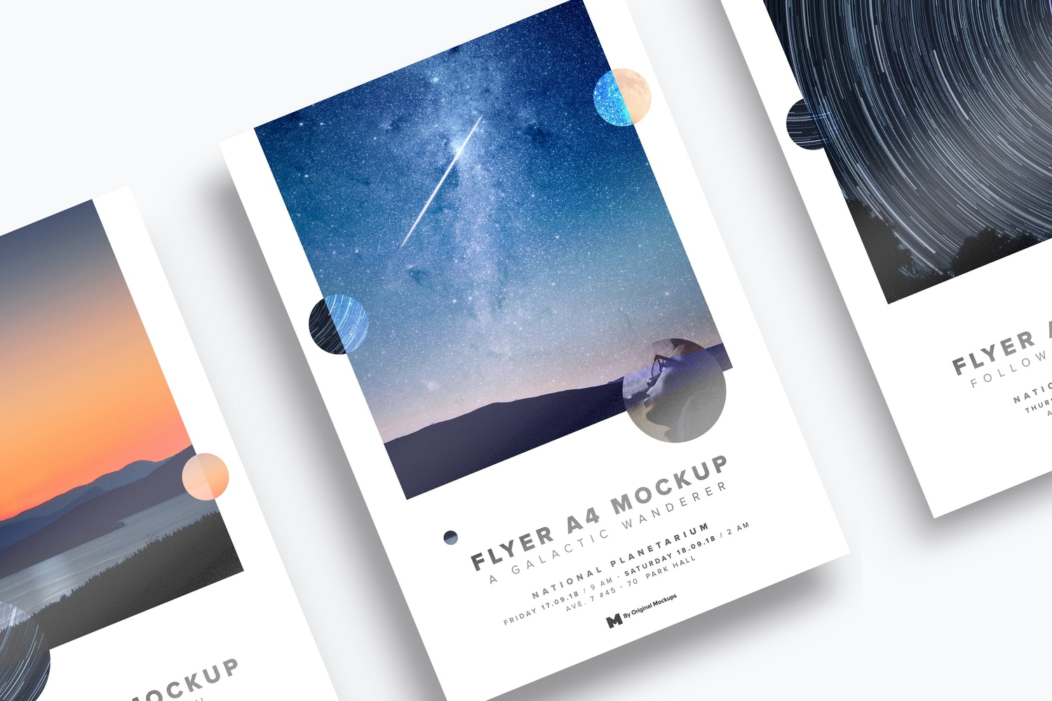 A4 / A5 Flyer Mockup 01 by Original Mockups on Original Mockups
