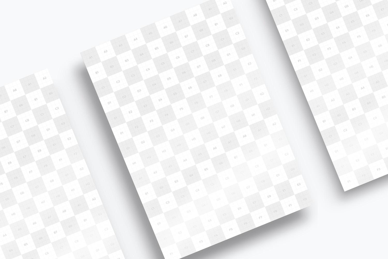 Maqueta de Flyer tamaño  A4 o A5
