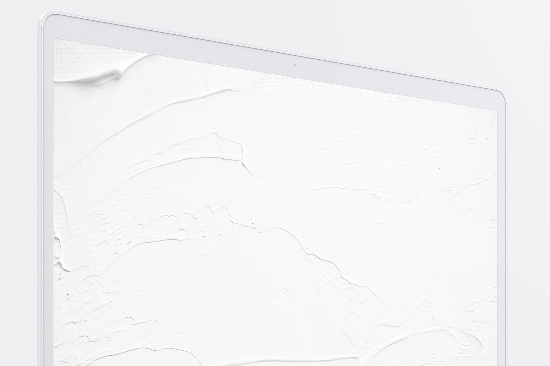 """Maqueta de MacBook Pro de 15"""" con Touch Bar, Vista Frontal Derecha, Multicolor 02 (6) por Original Mockups en Original Mockups"""