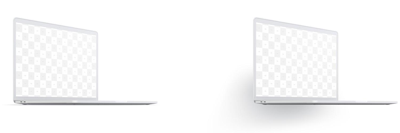 """Maqueta de MacBook Pro de 15"""" con Touch Bar, Vista Frontal Derecha, Multicolor 02 (5) por Original Mockups en Original Mockups"""