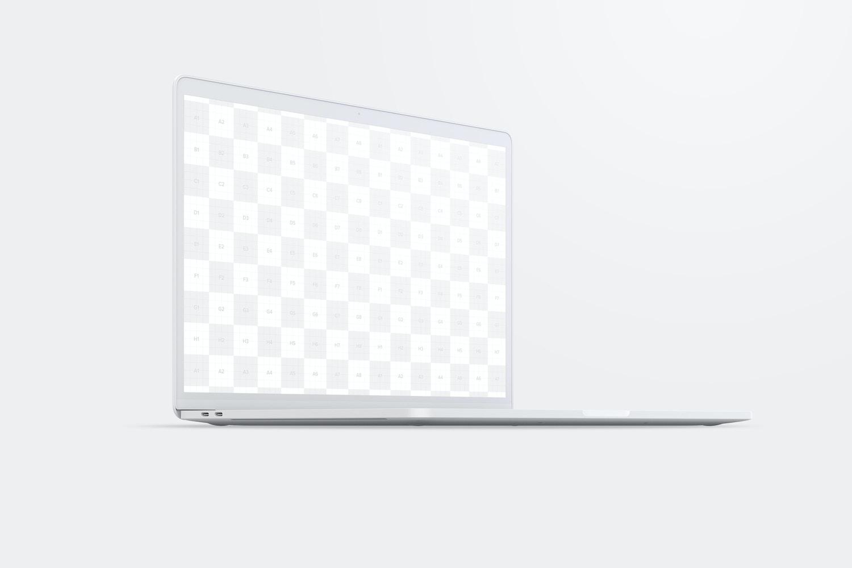 """Maqueta de MacBook Pro de 15"""" con Touch Bar, Vista Frontal Derecha, Multicolor 02 (2) por Original Mockups en Original Mockups"""
