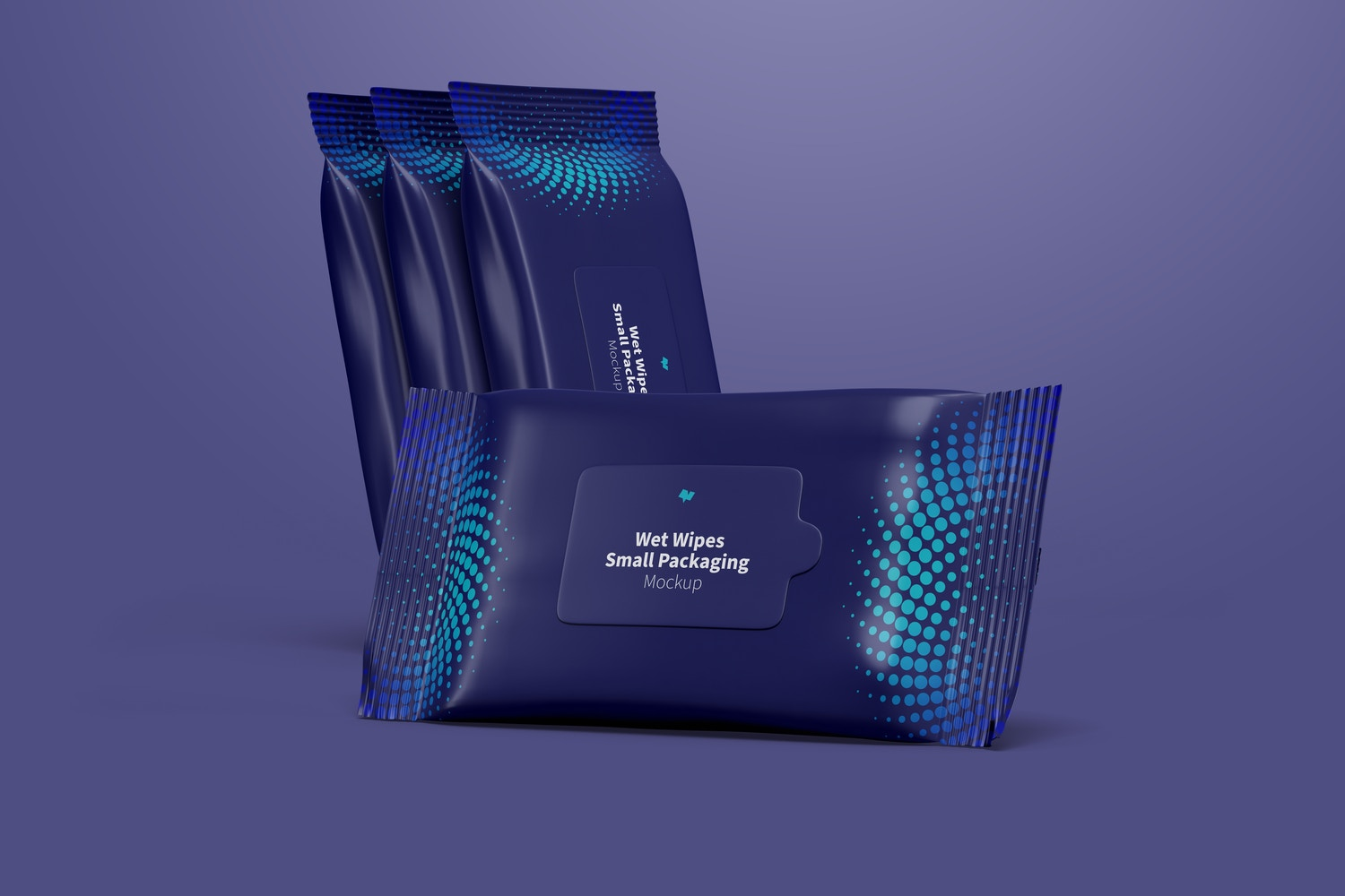Take advantage of the composition of the scene and present your design throughout the packaging.