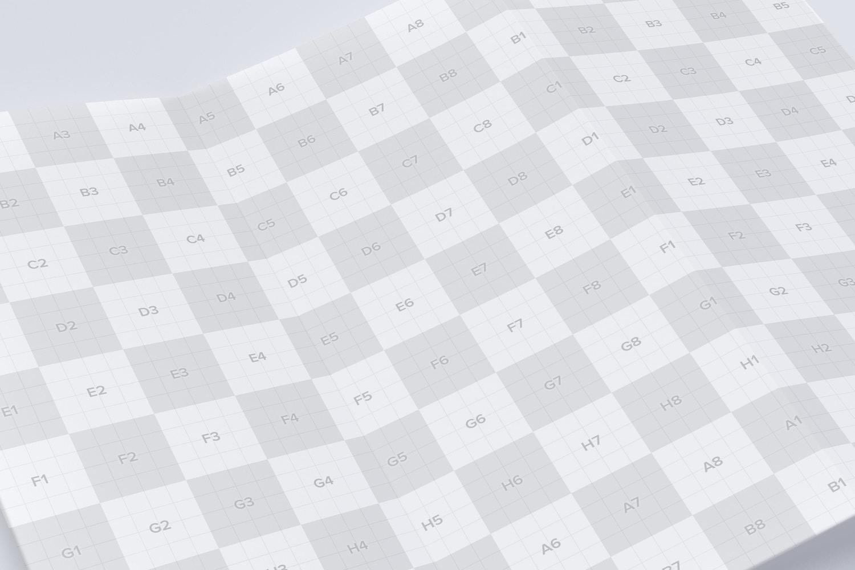 Letter Z Fold Brochure Mockup 03 (3) by Original Mockups on Original Mockups