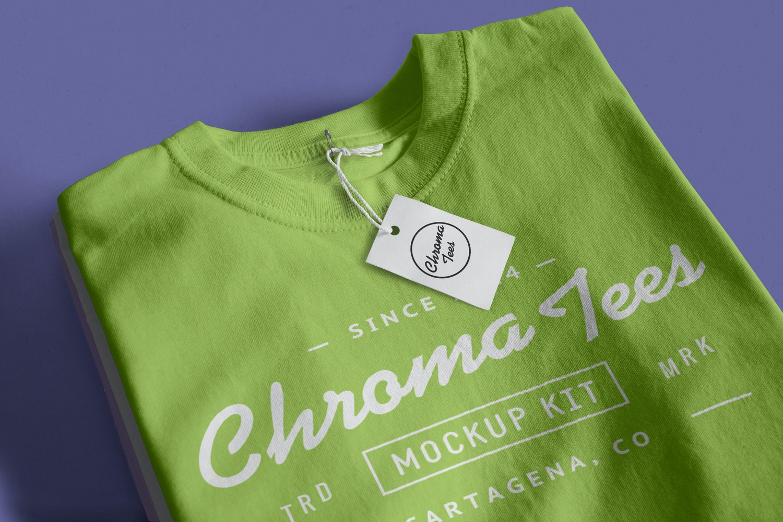 Stack of Folded T-Shirts Mockup 03 (1) by Antonio Padilla on Original Mockups