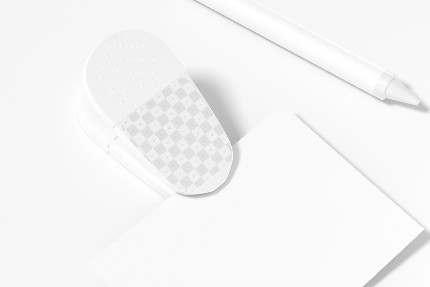 Promotional Magnetic Clip with Paper Mockup