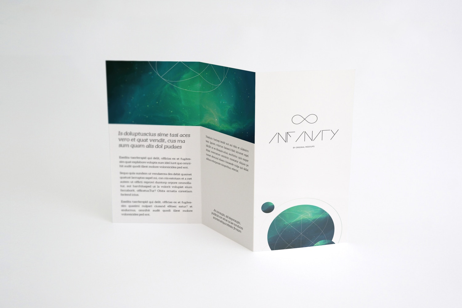 A4 Brochure Mockup 02 by Original Mockups on Original Mockups