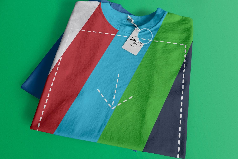 Folded T-Shirts Mockup 01 (2) by Antonio Padilla on Original Mockups
