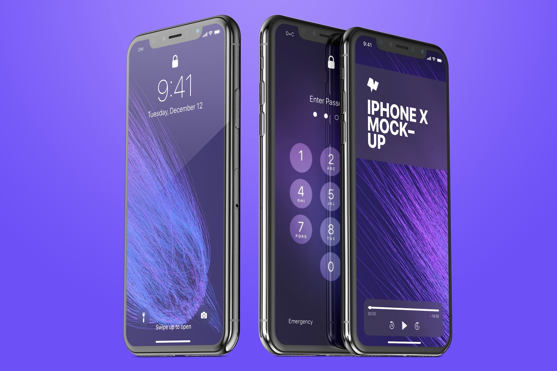iPhone X Mockup 03