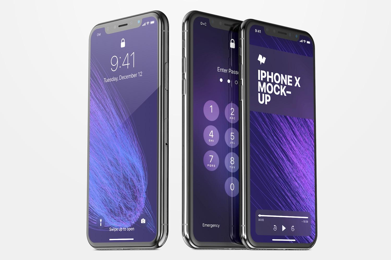iPhone X Mockup 03 by Original Mockups on Original Mockups