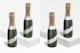 187 ml Wine Bottles Mockup