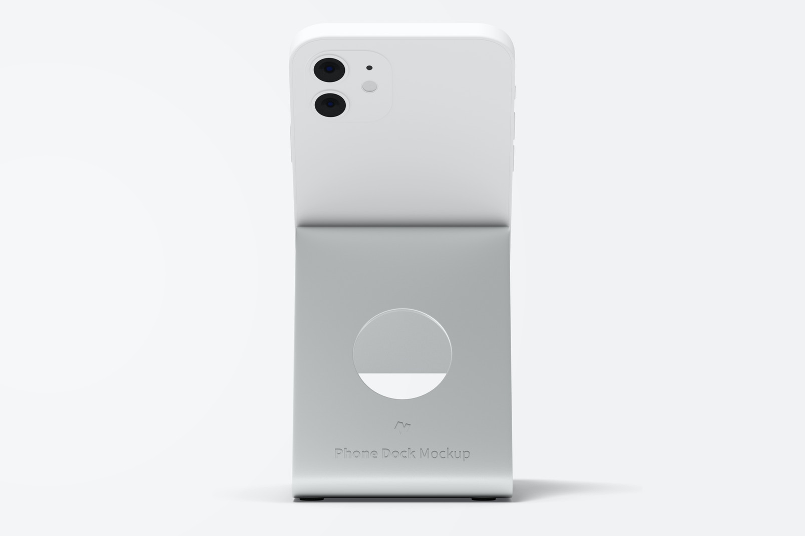 Phone Dock Mockup, Front View