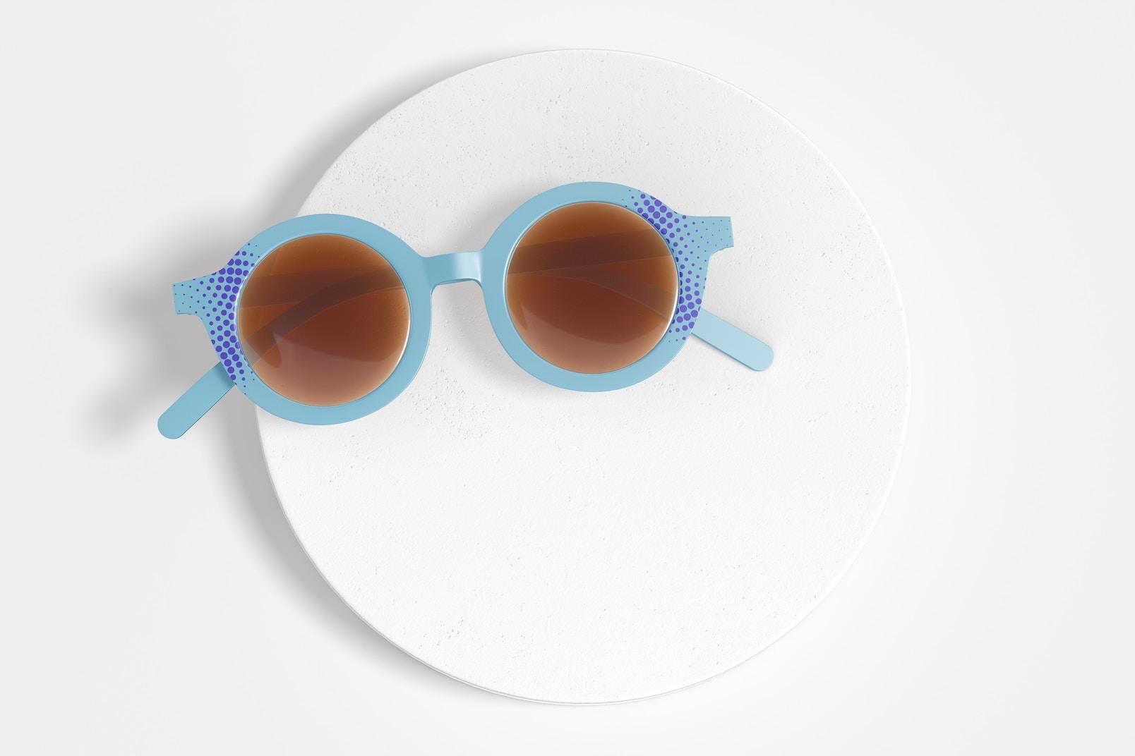 Kids Sunglasses Mockup