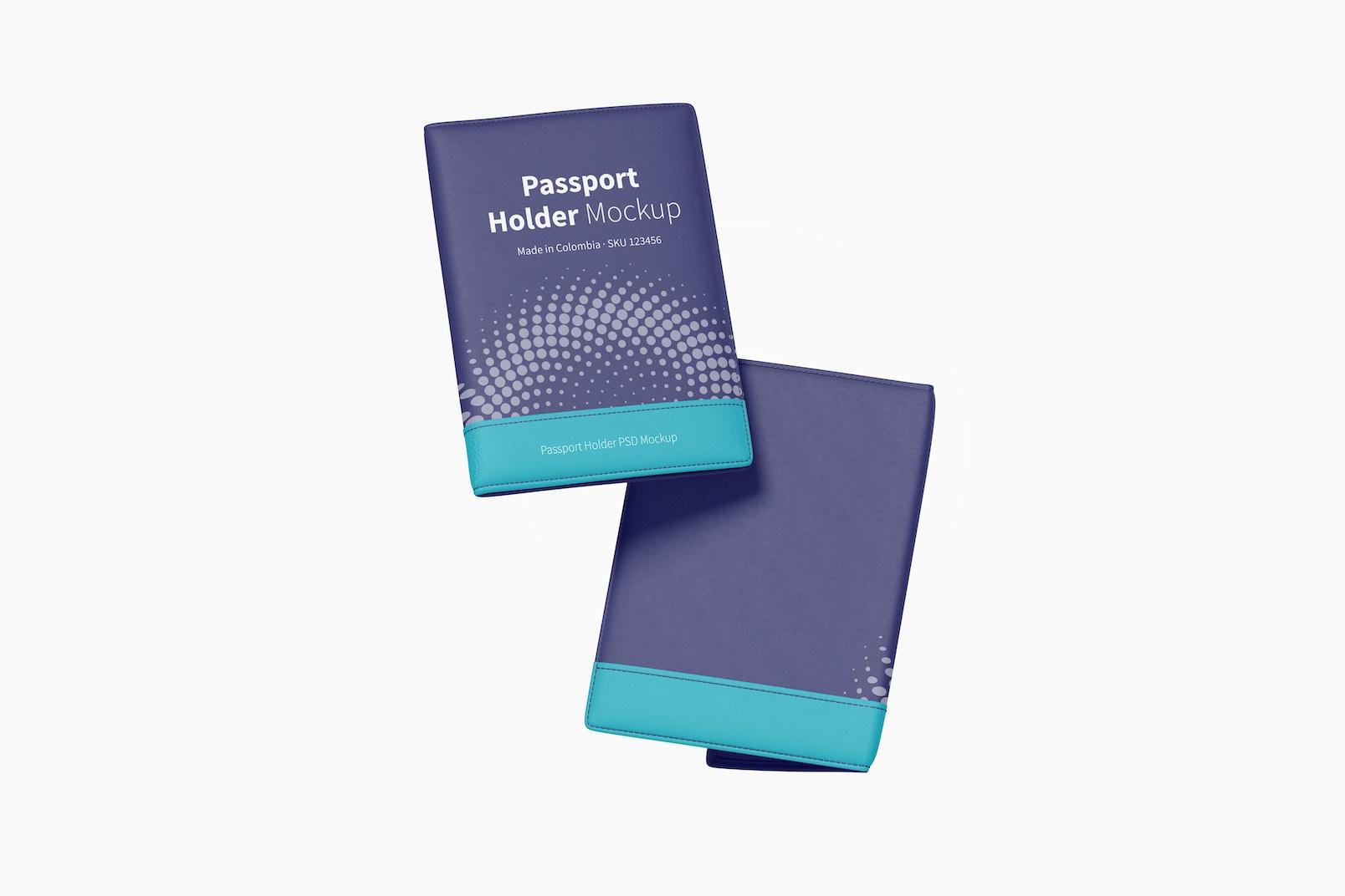 Passport Holder Mockup