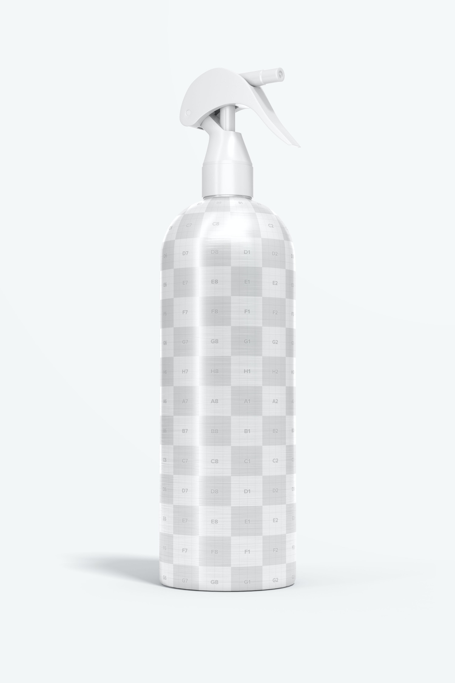 These are the areas of the bottle to place your design.