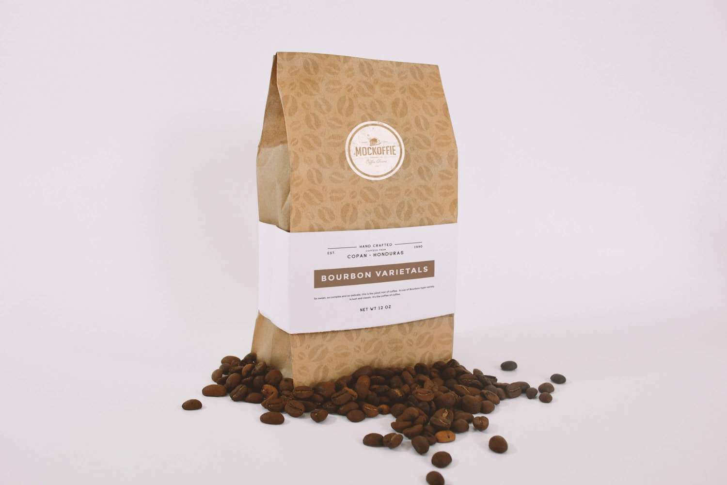 Coffee Bag Mockup Perspective View (1) by Eduardo Mejia on Original Mockups