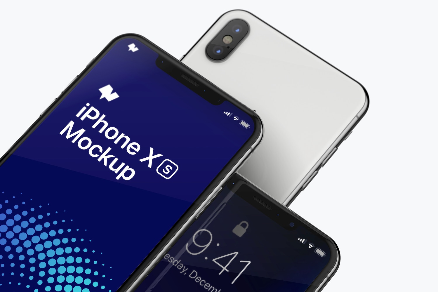 iPhone XS Max Mockup, Close Up 02 by Original Mockups on Original Mockups