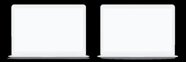 Clay MacBook Mockup, Front View (4) by Original Mockups on Original Mockups