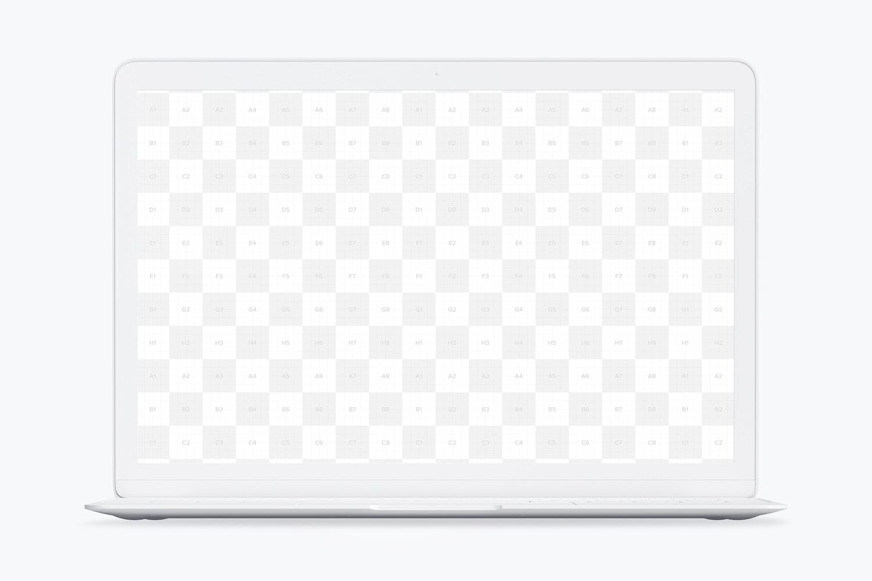 Clay MacBook Mockup, Front View (2) by Original Mockups on Original Mockups