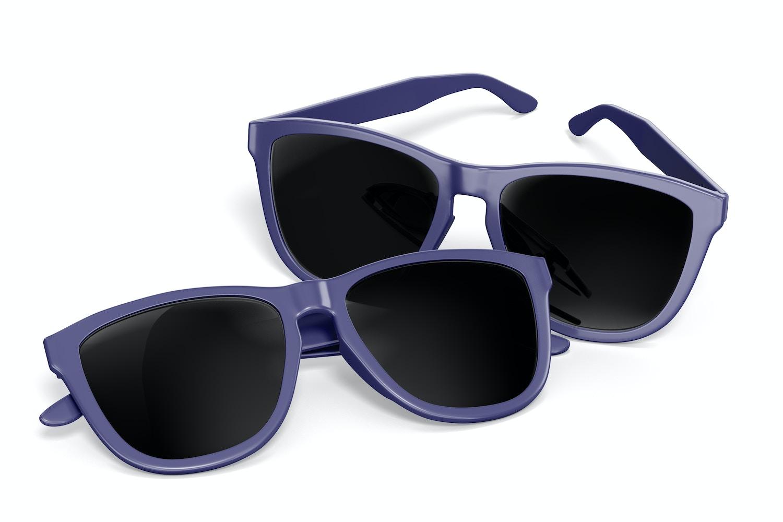 Sunglasses Mockup, Perspective