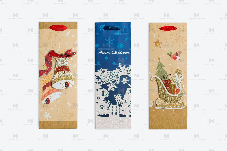 Christmas Bags Isolate by Original Mockups on Original Mockups