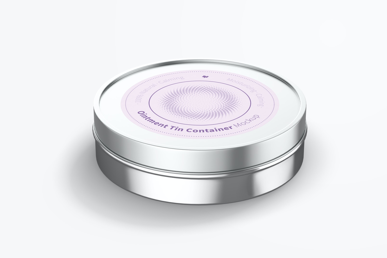 Ointment Tin Container Mockup
