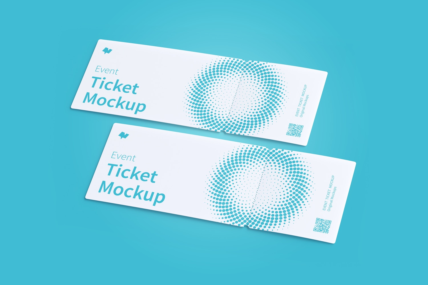 Event Tickets Mockup 01