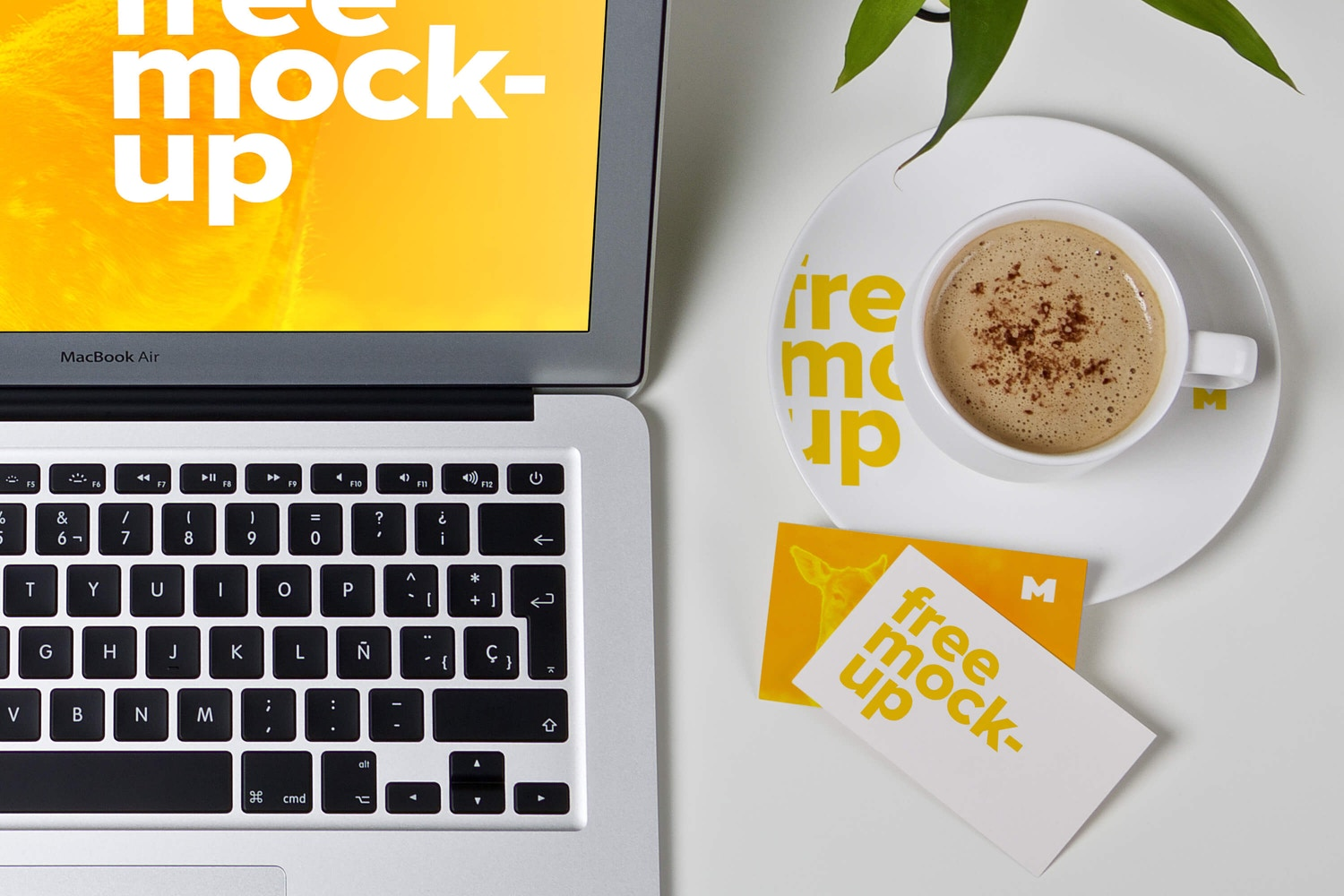 Workspace Mockup 01 (5) by Ktyellow  on Original Mockups