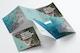 Square Tri-Fold Brochure Mockup 06