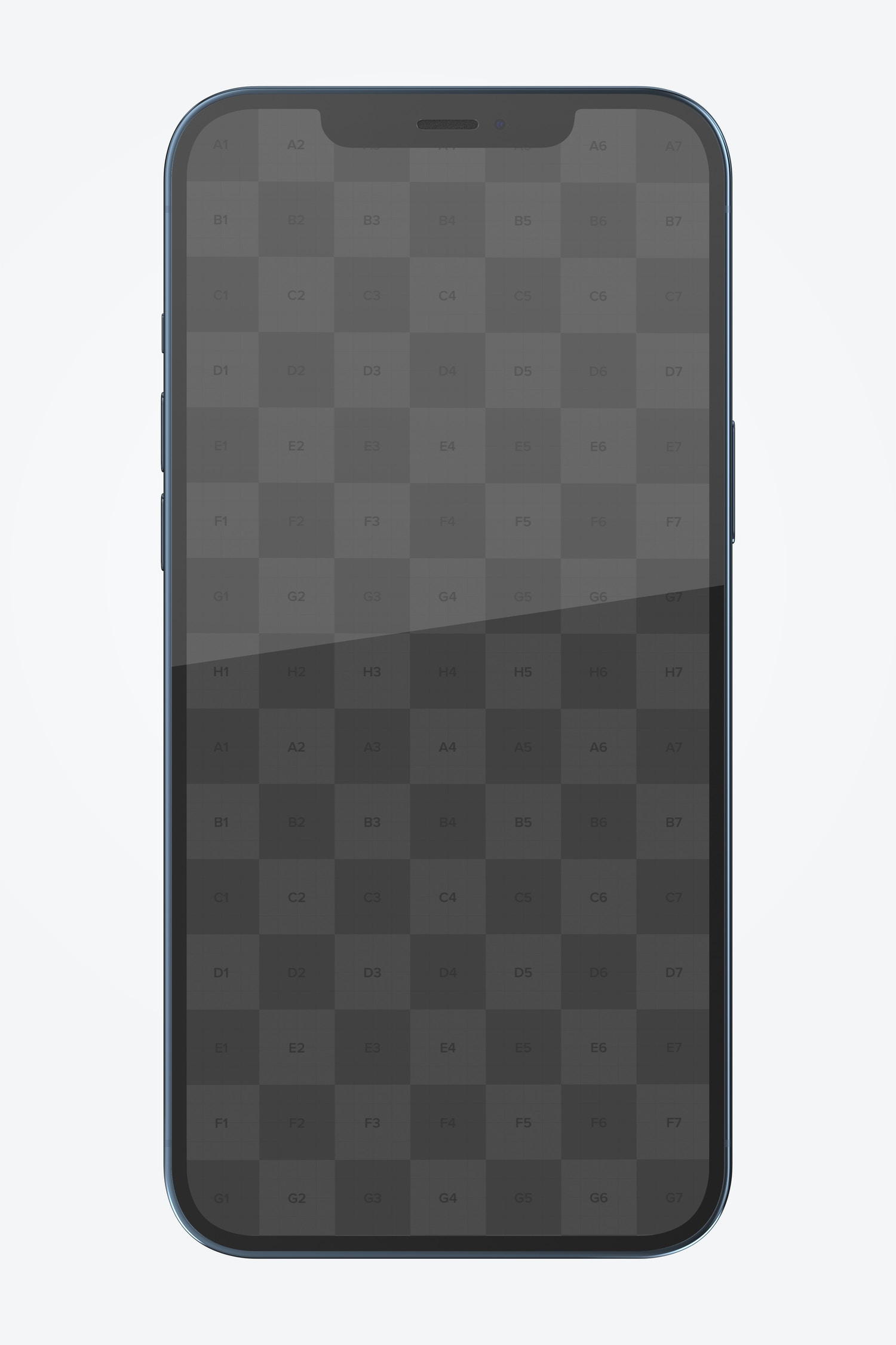 iPhone 12 Mockup, Front View