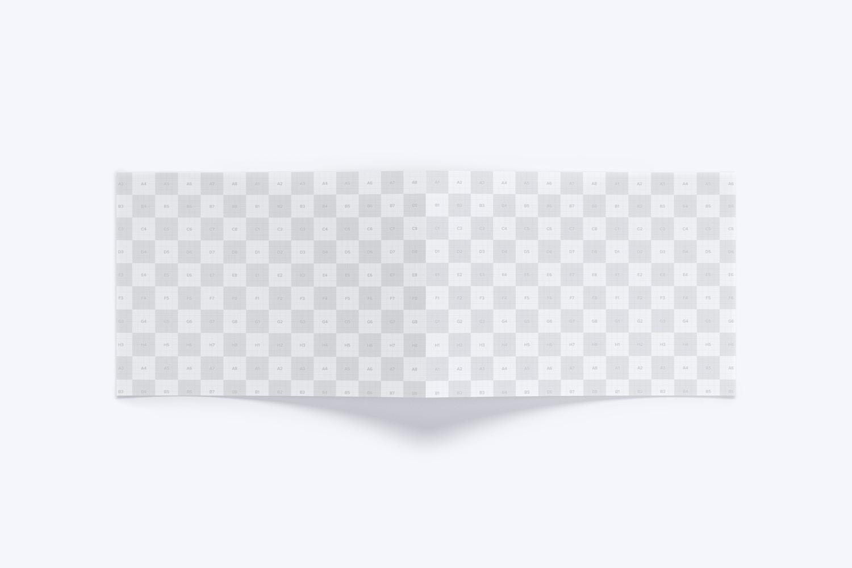 Maqueta de Folleto A4 Horizontal Díptico 01 (3) por Original Mockups en Original Mockups