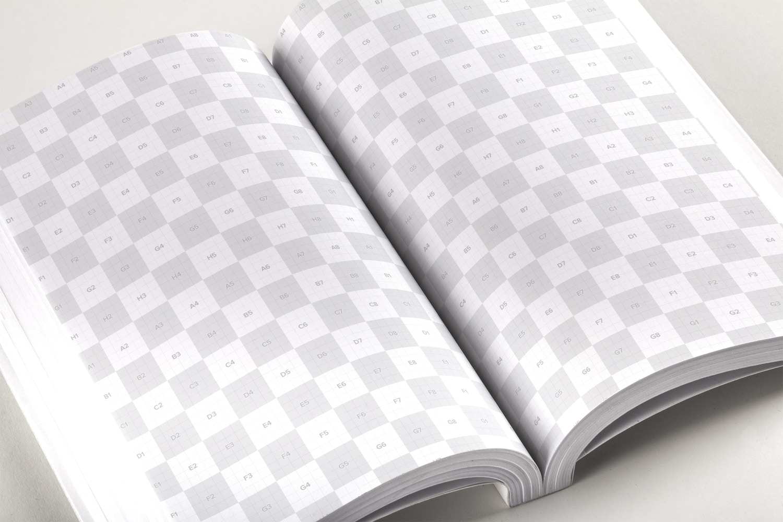 Softcover Trade Book PSD Mockup 02