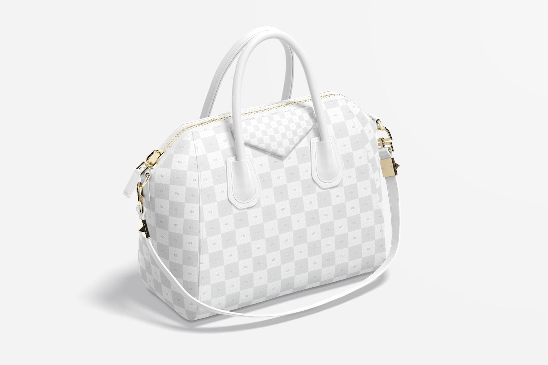 Women's Leather Bag Mockup