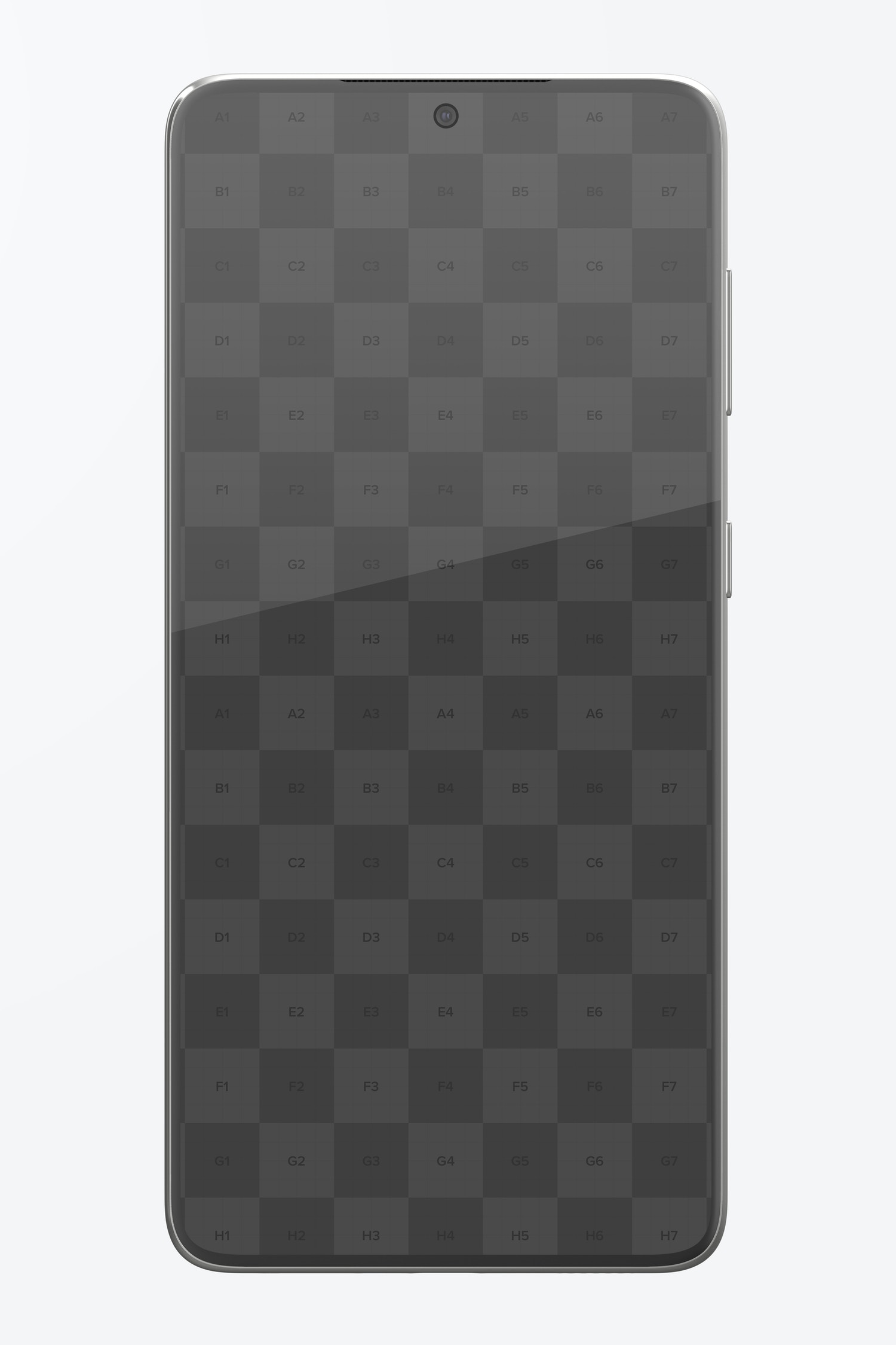Samsung S21 Mockup, Front View