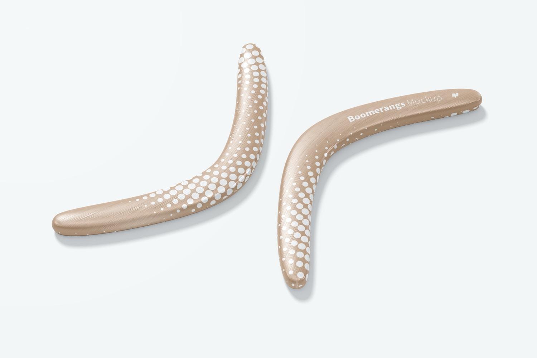 Maqueta de Boomerangs