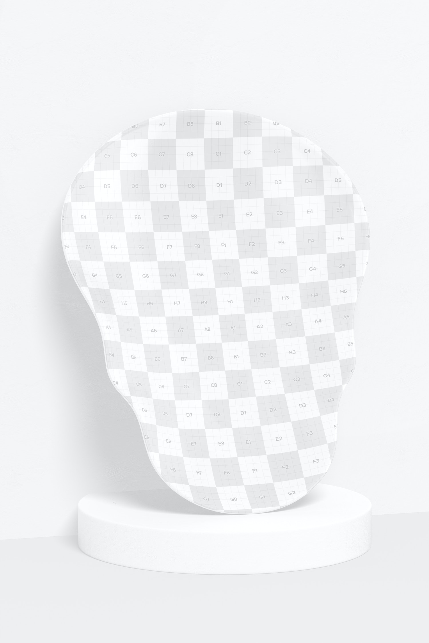 Skull Shaped Plate Mockup